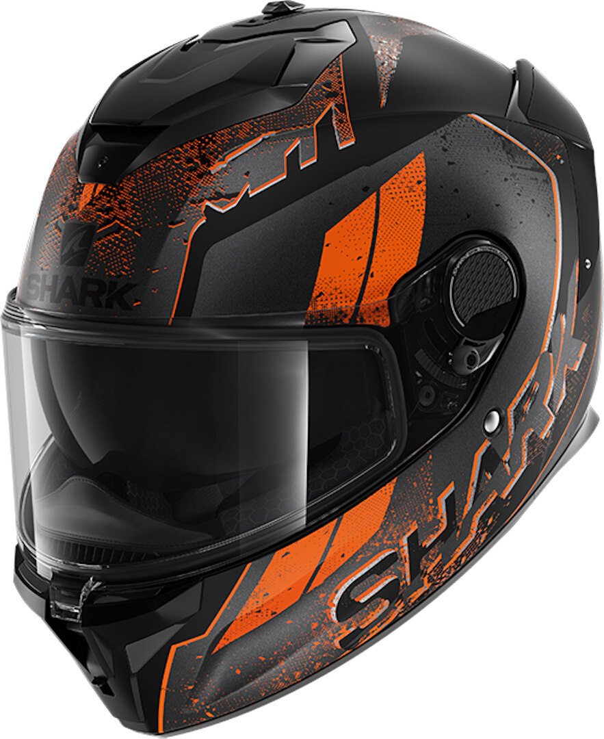 Shark Spartan GT Ryser Helmet, black-orange, Size S, black-orange, Size S from Shark