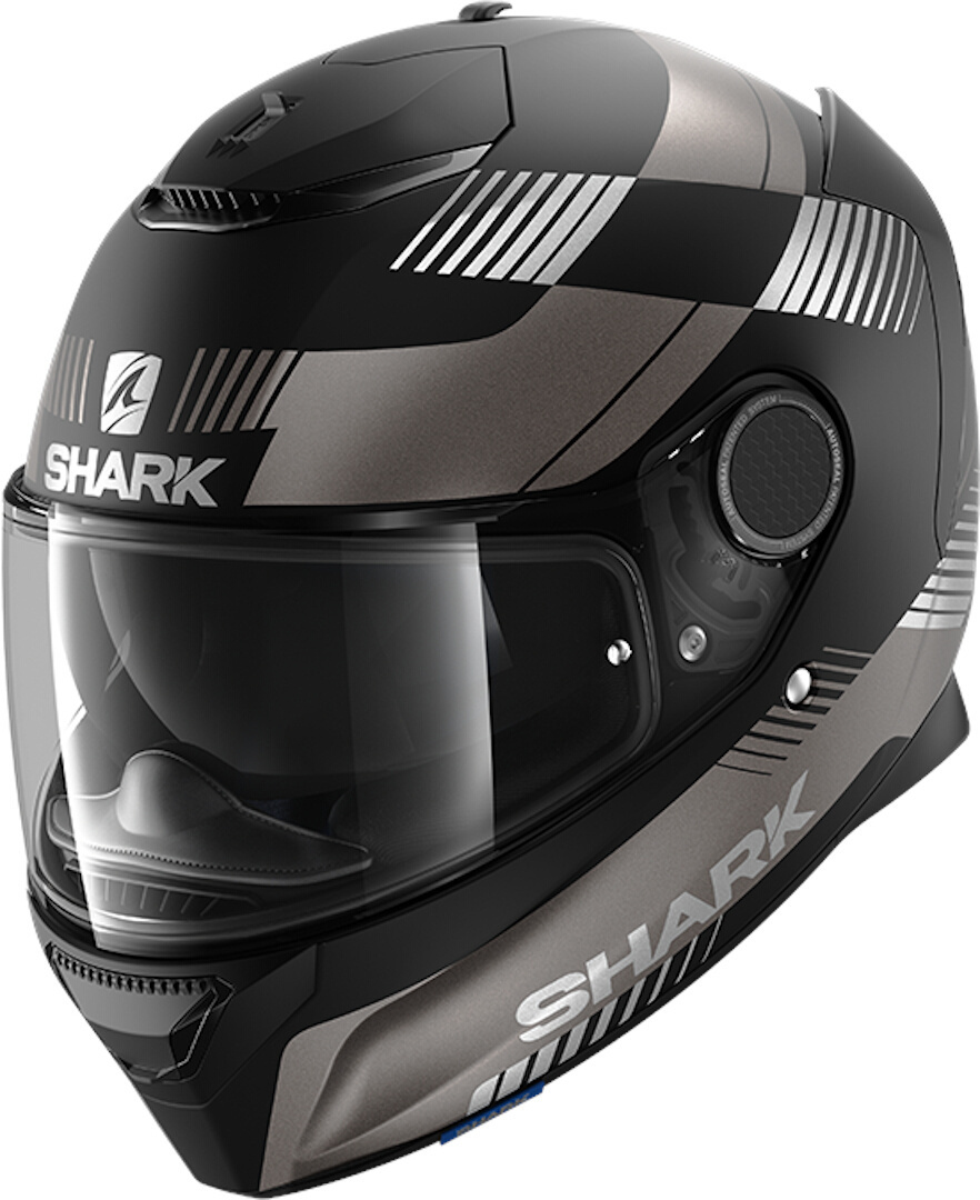 Shark Spartan Strad Helmet, black-grey, Size 2XL, black-grey, Size 2XL from Shark