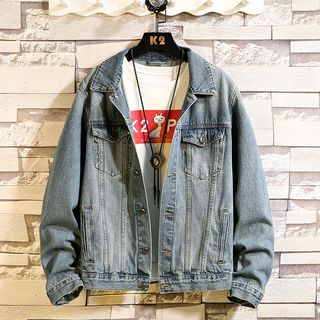 Buttoned Denim Jacket from Sheck