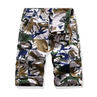 Camouflage Cargo Shorts from Sheck