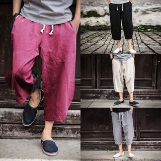 Cropped Harem Pants from Sheck