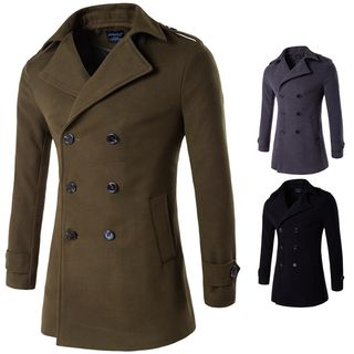 Double-Breasted Coat from Sheck