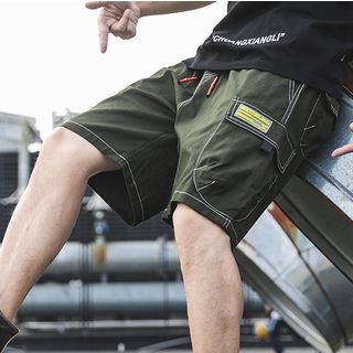Drawstring Cargo Shorts from Sheck