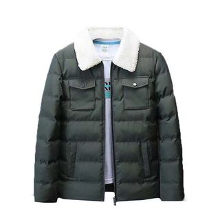 Fleece Collared Padded Jacket from Sheck