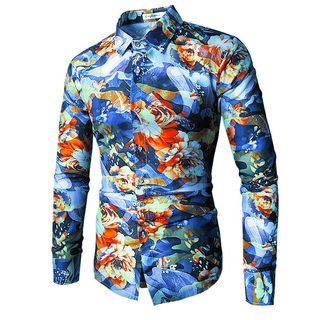 Flower Print Shirt from Sheck