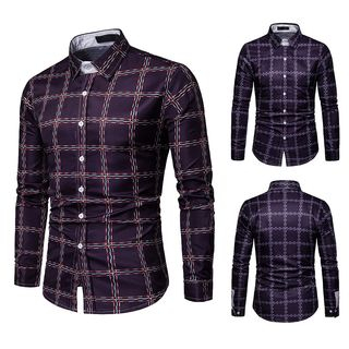 Long-Sleeve Plaid Shirt from Sheck