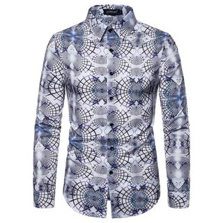 Long-Sleeve Printed Shirt from Sheck