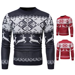 Patterned Sweater from Sheck