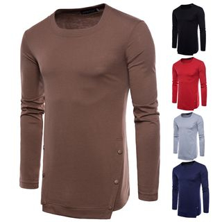Plain Long-Sleeve T-shirt from Sheck