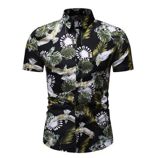 Short-Sleeve Printed Shirt from Sheck