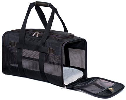 Sherpa 55231 Original Deluxe Pet Carrier Black (Medium) from Sherpa