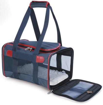 Sherpa 55514 Original Deluxe Pet Carrier Navy/Red (Large) from Sherpa