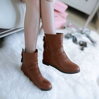 Bow Short Boots from Shoes Galore
