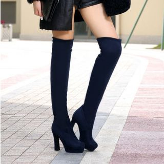 High Heel Over-the-Knee Boots from Shoes Galore