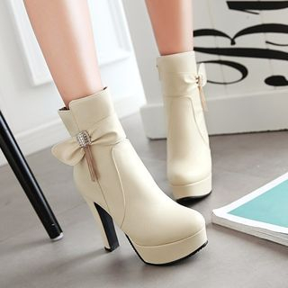 High Heel Short Boots from Shoes Galore