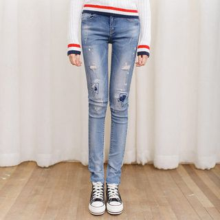 Distressed Jeans from Sienne