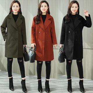 Double-Breasted Coat from Sienne