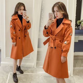 Double Breasted Long Coat from Sienne