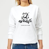 We Came. We Saw. We Loved. Women's Sweatshirt - White - M - White from The Valentines Collection