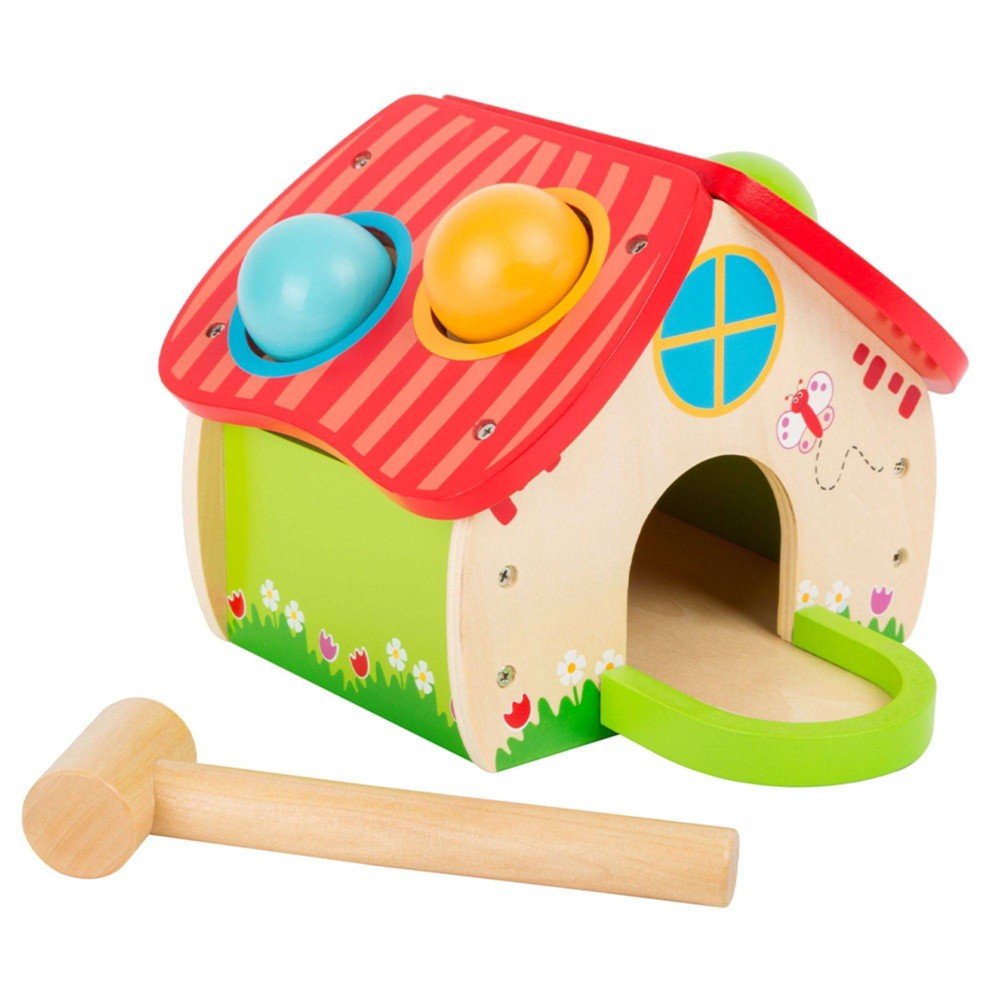 Small Foot Wooden Toys Hammering House from Small Foot