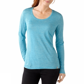 Women's Long Sleeve Solid Tee from SmartWool