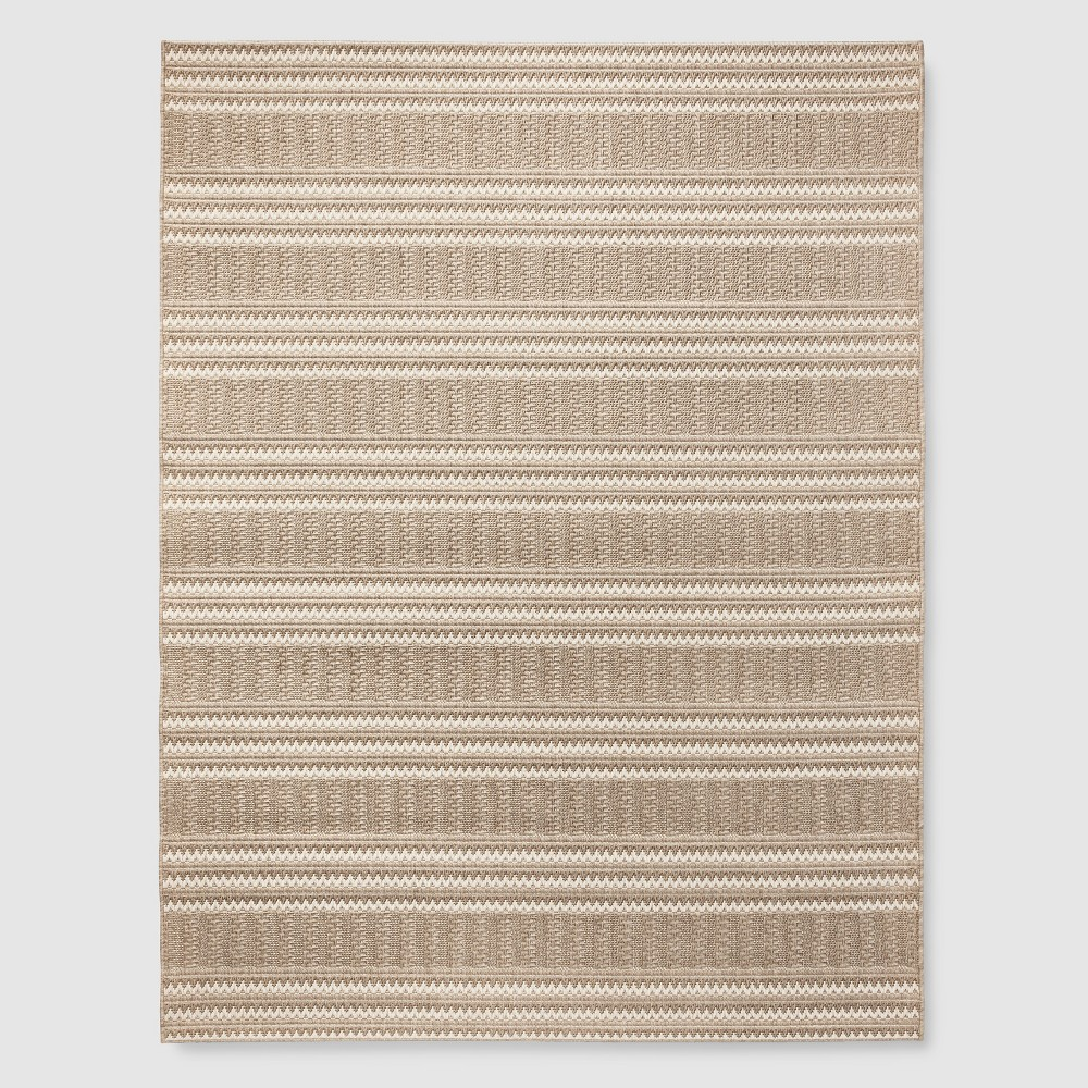 5' x 7' Oat Cashmere Outdoor Rug Beige - Smith & Hawken from Smith & Hawken