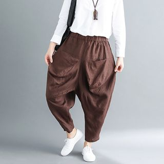 Cropped Harem Pants from Snow Flower