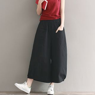 Cropped Wide Leg Pants from Snow Flower