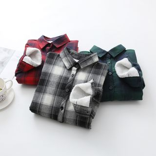 Plaid Fleece-Lined Shirt from Snow Goose