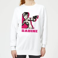 Star Wars Rebels Sabine Women's Sweatshirt - White - XL - White from Star Wars Rebels