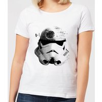 Star Wars Command Stromtrooper Death Star Women's T-Shirt - White - L - White from Star Wars