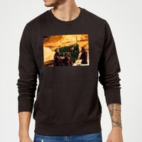 Star Wars Jawas Christmas Tree Black Christmas Sweatshirt - M - Black from Star Wars