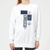 Star Wars The Resistance White Women's Sweatshirt - White - XL - White from Star Wars