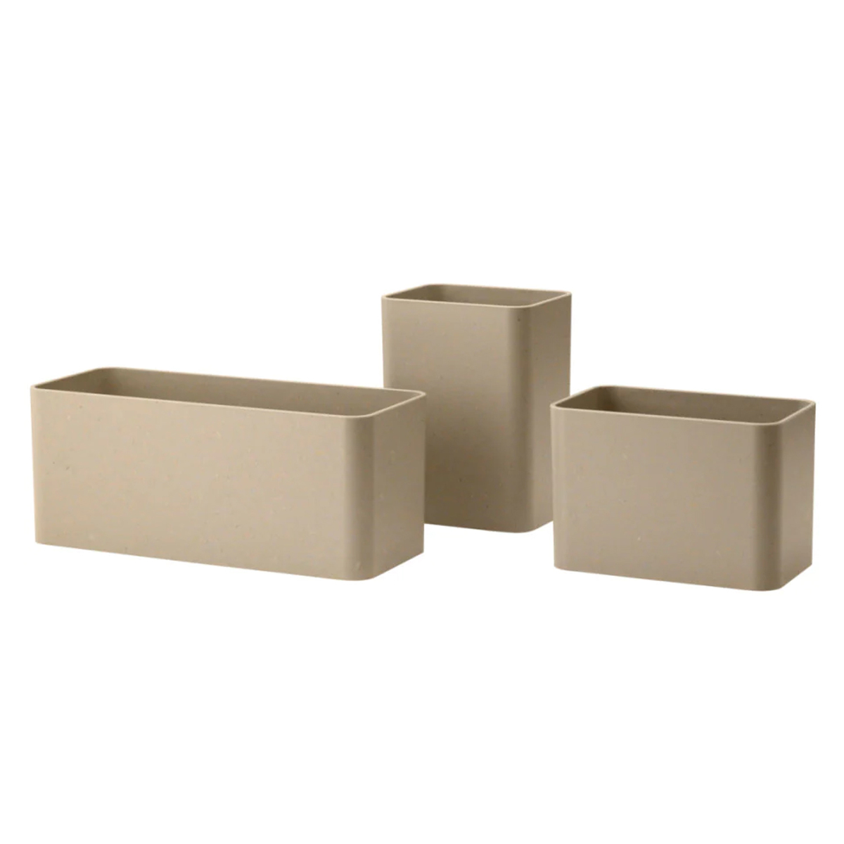 String Furniture String organizers, 3-pack, beige from String Furniture