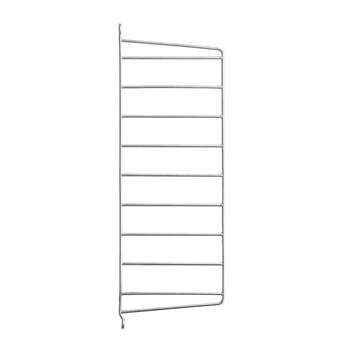 String Furniture String Outdoor side panel 50 x 20 cm, 2-pack, galvanized from String Furniture