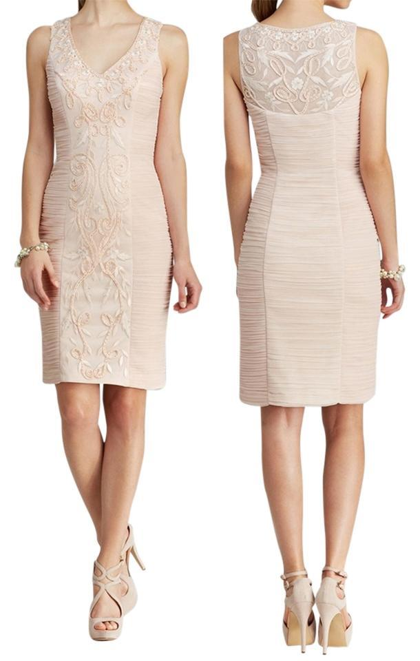 Sue Wong - Sleeveless Ruched Cocktail Dress N4203 from Sue Wong