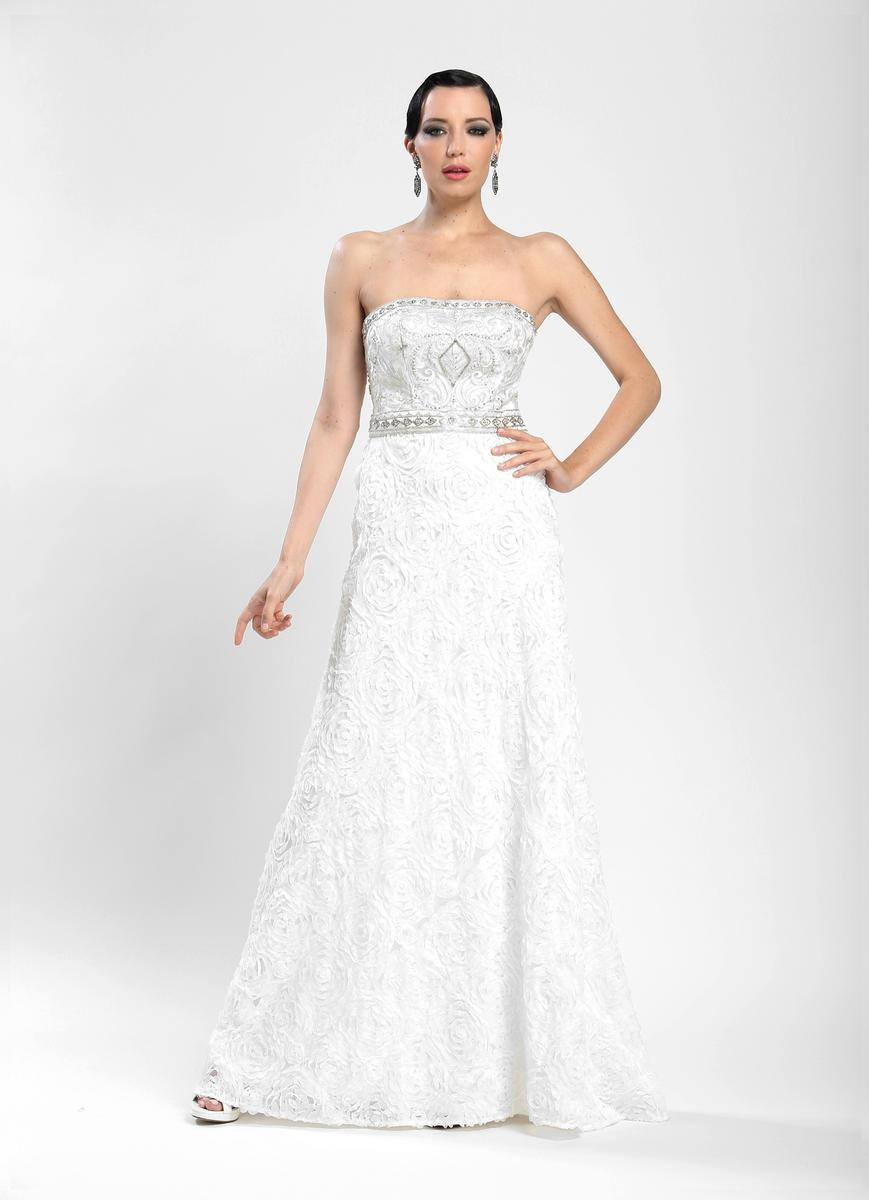 Sue Wong - Strapless Long Gown W3531 from Sue Wong