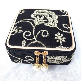 Embroidered Sanitary Pad Pouch from TIDBIT