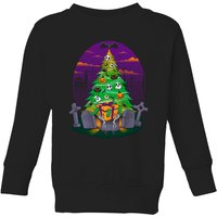 Tobias Fonseca Halloween Is My Xmas Kids' Sweatshirt - Black - 5-6 Years - Black from TOBIAS FONSECA