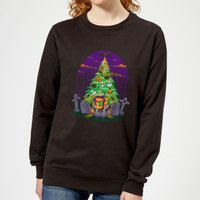 Tobias Fonseca Halloween Is My Xmas Women's Sweatshirt - Black - M - Black from TOBIAS FONSECA