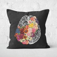 Love Your Brain Square Cushion - 60x60cm - Soft Touch from TOBIAS FONSECA