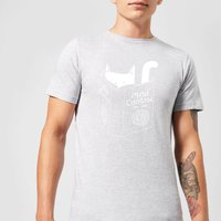 Mind Control for Cats Men's T-Shirt - Grey - S - Grey from TOBIAS FONSECA