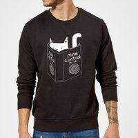 Mind Control for Cats Sweatshirt - Black - S - Black from TOBIAS FONSECA