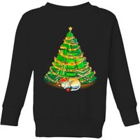 Tobias Fonseca My Favorite Xmas Tree Kids' Sweatshirt - Black - 3-4 Years - Black from TOBIAS FONSECA