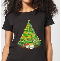 Tobias Fonseca My Favorite Xmas Tree Women's T-Shirt - Black - S - Black from TOBIAS FONSECA