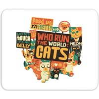 Who Run The World? Cats. Mouse Mat from TOBIAS FONSECA
