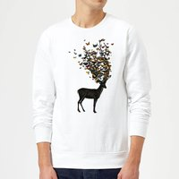 Wild Nature Sweatshirt - White - M - White from TOBIAS FONSECA