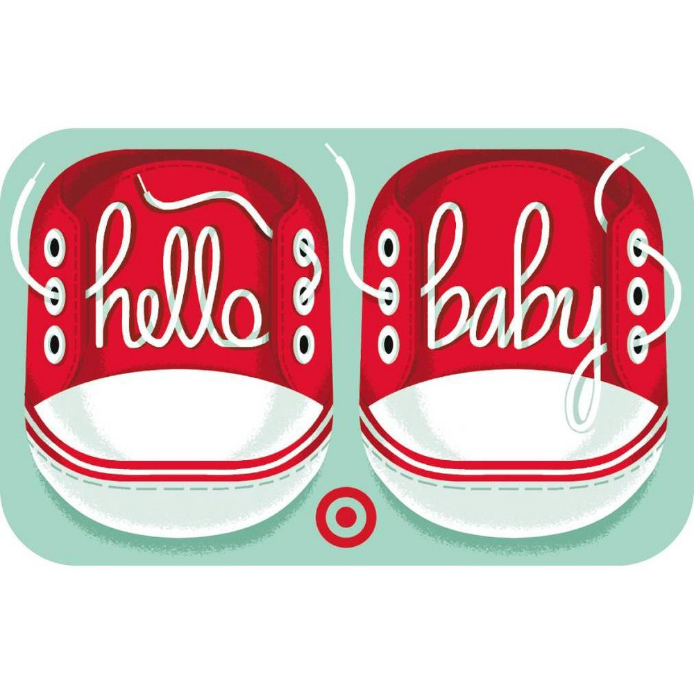 Baby Shoes Target Giftcard from Target