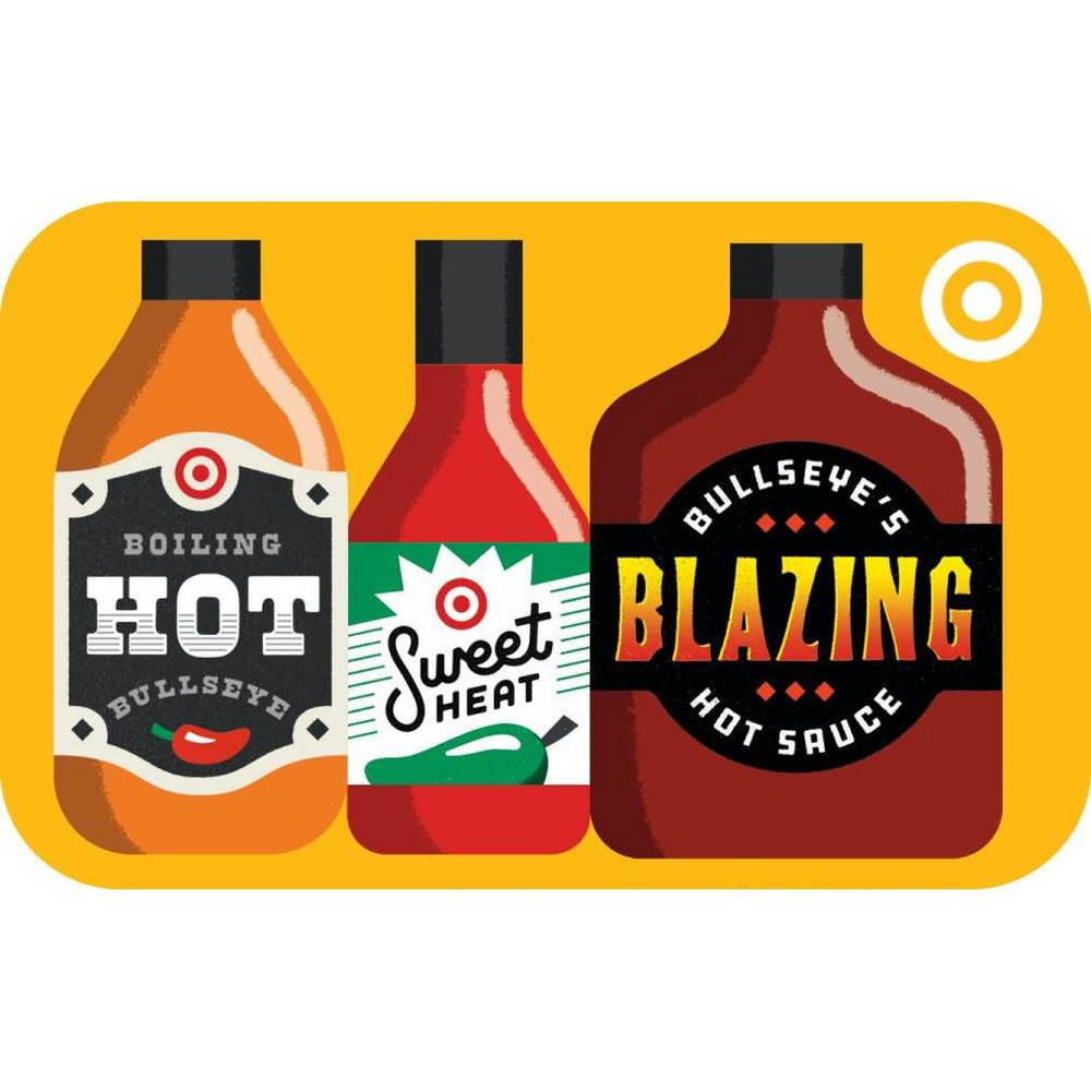 Hot Sauce Target Giftcard from Target