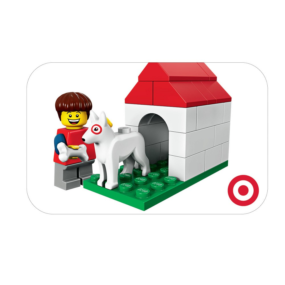 Lego Doghouse Target Giftcard from Target